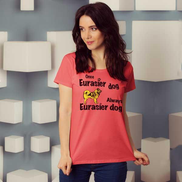 Once-Eurasier T-shirt Motiv