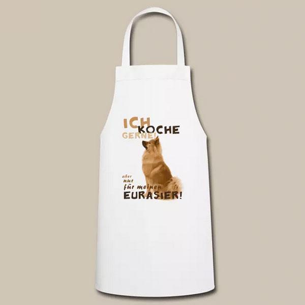 Eurasier Geschenk Idee Kochschürze