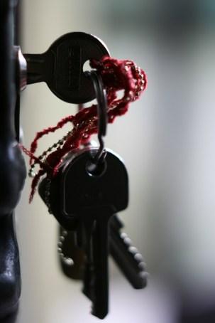 weihnachtliche Schlüssel