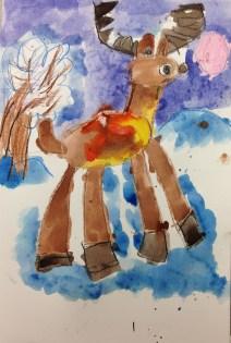 Age 6 Reindeer