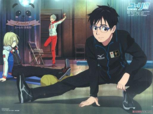 Bonus Clearfile - Yuri!!! on Ice