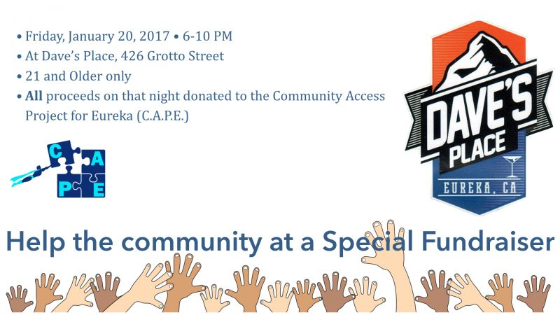 Fundraiser to Help CAPE – Eureka Community Services Blog ...