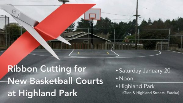 Ribbon Cutting for New Basketball Courts This Saturday ...