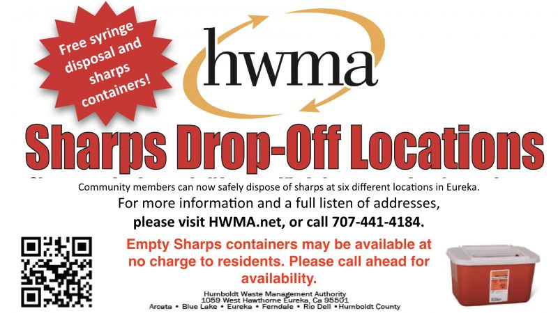 Eureka offers new Sharps Container Pick-Up and Collection ...