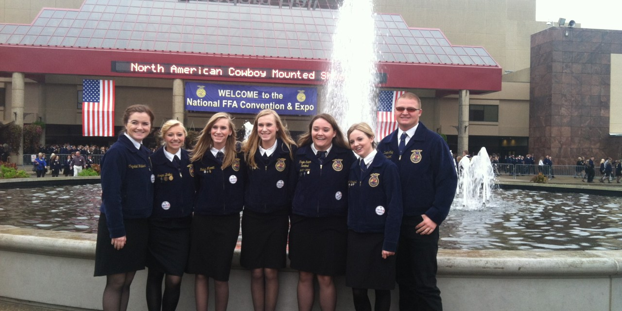 Students get most out of National FFA Convention