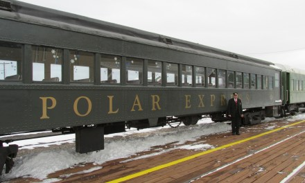 Popular train begins North Pole trips