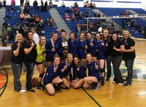 Pahranagat Valley High School - 2016 State 1A Volleyball Champions
