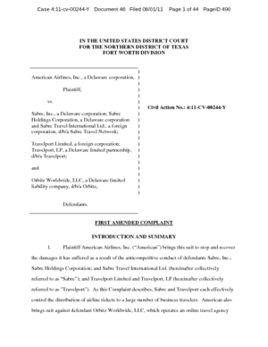 american-airlines-vs-travelport-limited-and-travelport-amended-complaint