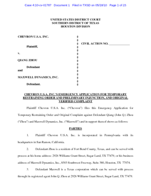 chevron-usa-inc-vs-qiang-zhou-and-maxwell-dynamics-inc-complaint