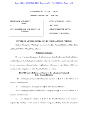 first-bank-and-trust-vs-gulf-coast-bank-and-trust-answer-to-amended-complaint-mudbug