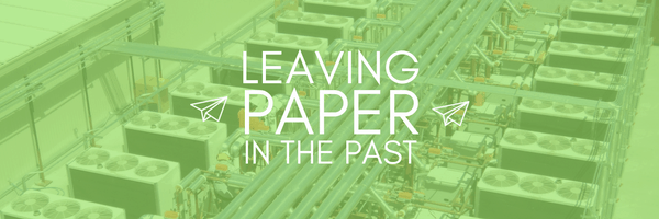 Paperless Systems for the Services Industry