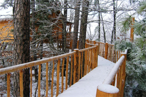 Cozy Winter Cabins in Eureka Springs, AR