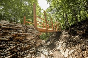 Lake Leatherwood Gravity Trails Project