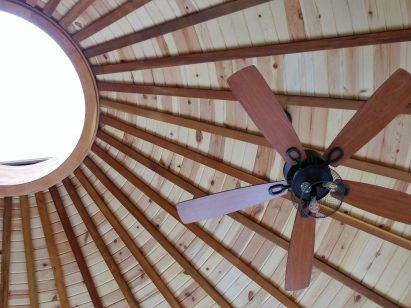 Yurt Skylight Star Gazing