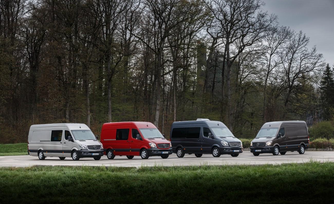 Mercedes-Benz Sprinter - Range Mercedes-Benz Sprinter - Range