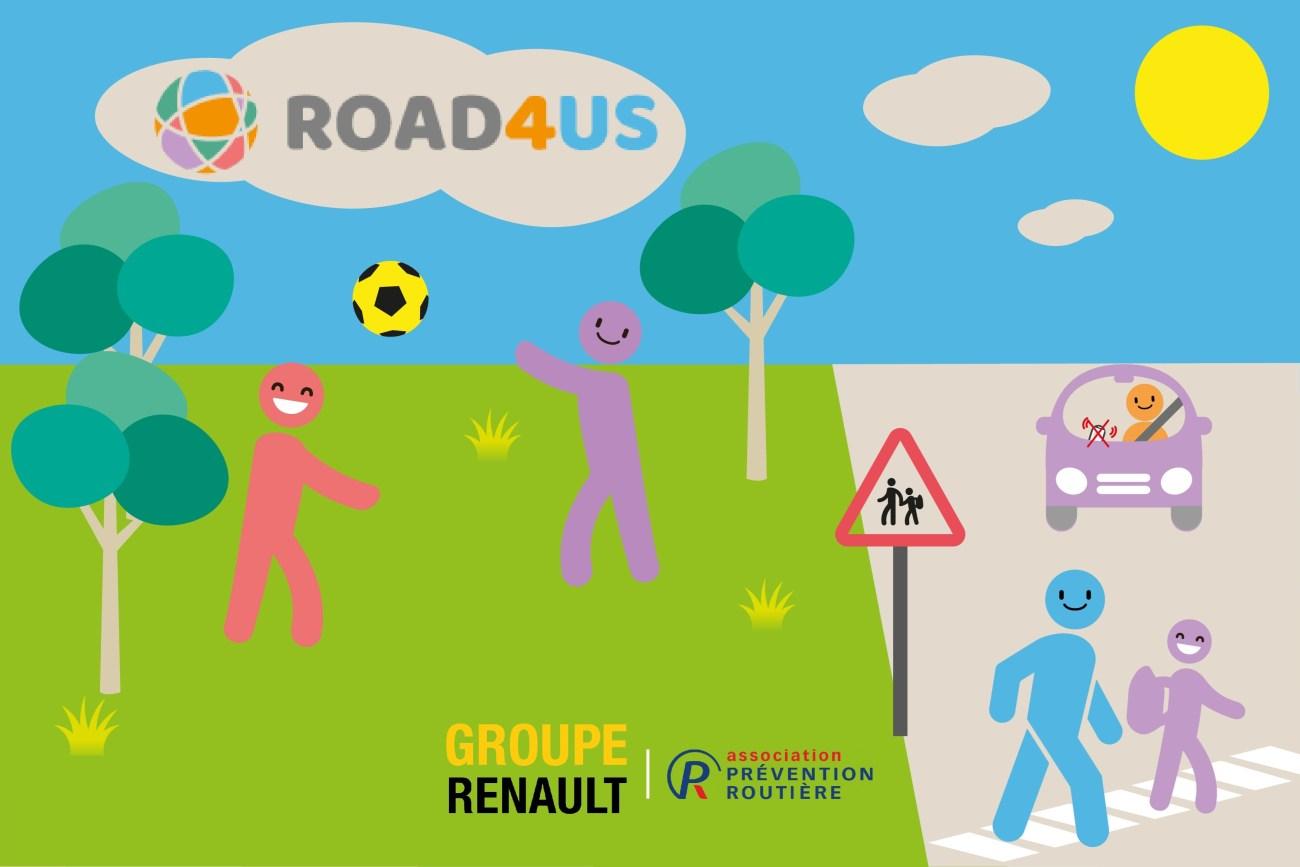 2020 - Site en ligne de prévention routière road4us