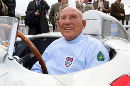 """Stirling Moss (300 SLR, W 196 S """"658""""), Mercedes-Benz Classic, Goodwood Revival 2011 Stirling Moss (300 SLR, W 196 S """"658""""), Mercedes-Benz Classic, Goodwood Revival 2011"""