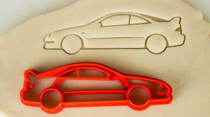 car-themed-cookie-cutters---acura-integra-type-r-dc2