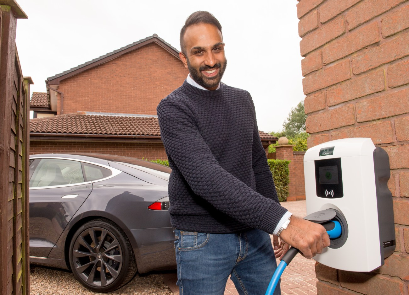 Electric Nation 700th smart charger installation  Solihull,19th, June, 2018.