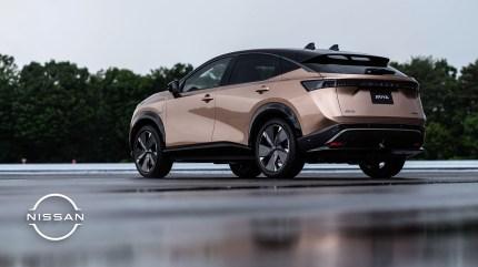 NissanAriya_Zoombackground_Rear_quarter_3