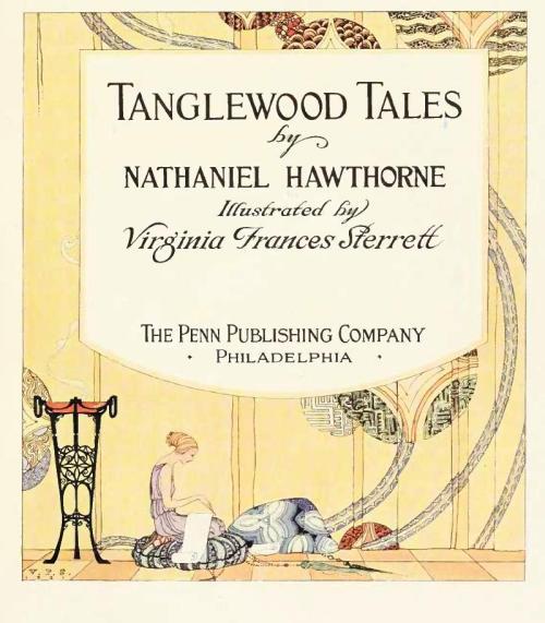 Portada Tanglewood Tales. Virginia Frances Sterrett