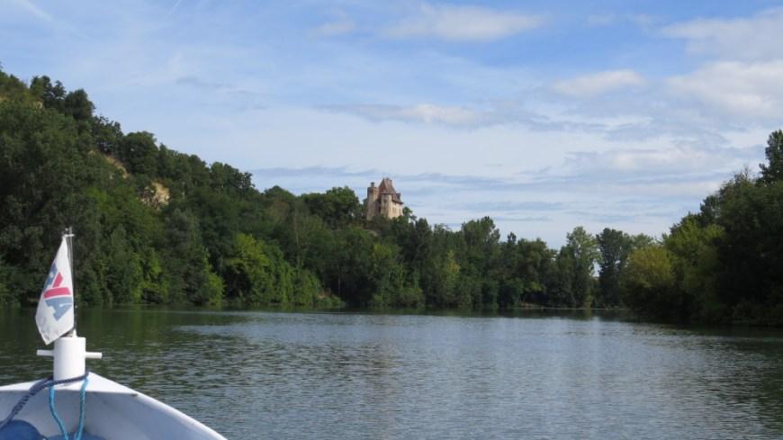 Chateau near Moissac