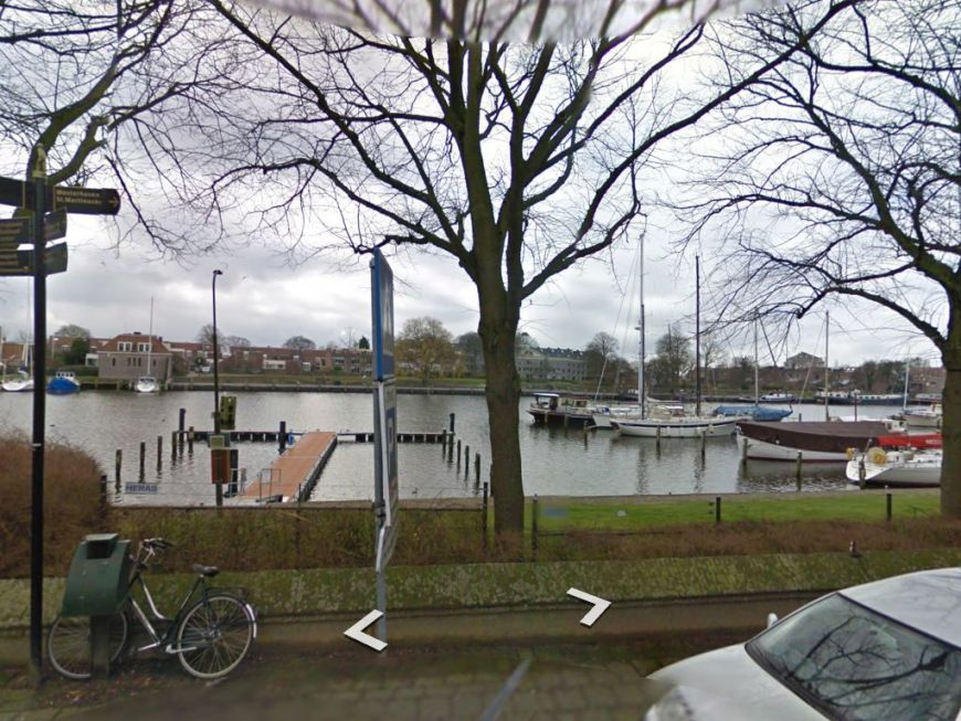 'Neo Vita' moored in Medemblik seen in Google StreetView