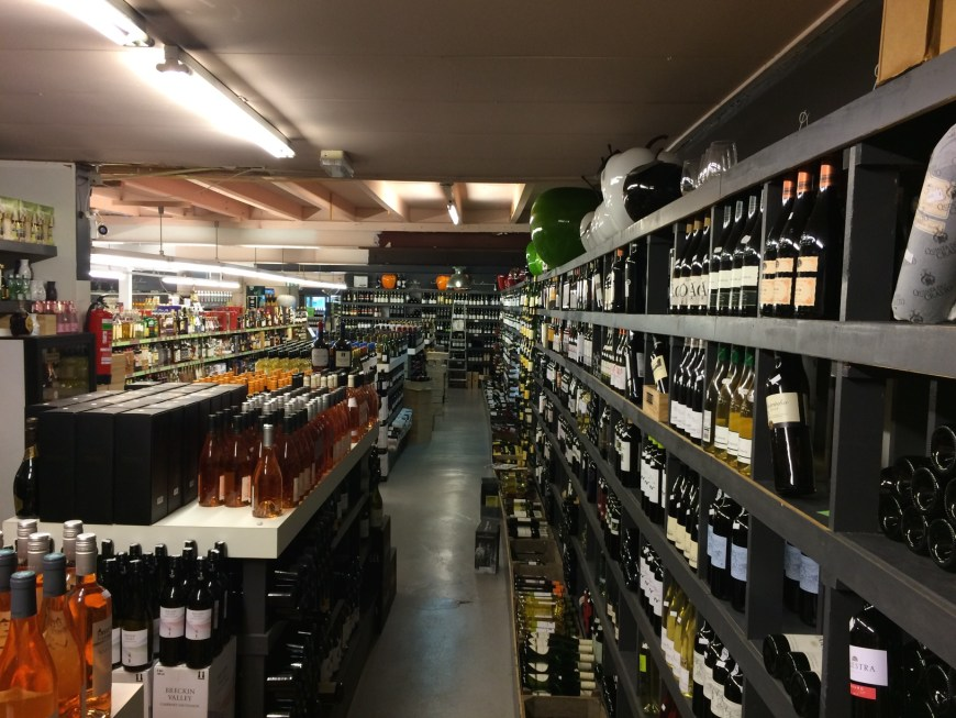 Not all history and art in Zaandam - we found a huge liquor shop - room o wines, room of beers, entire corridor of whiskey and so forth. Great shopping.