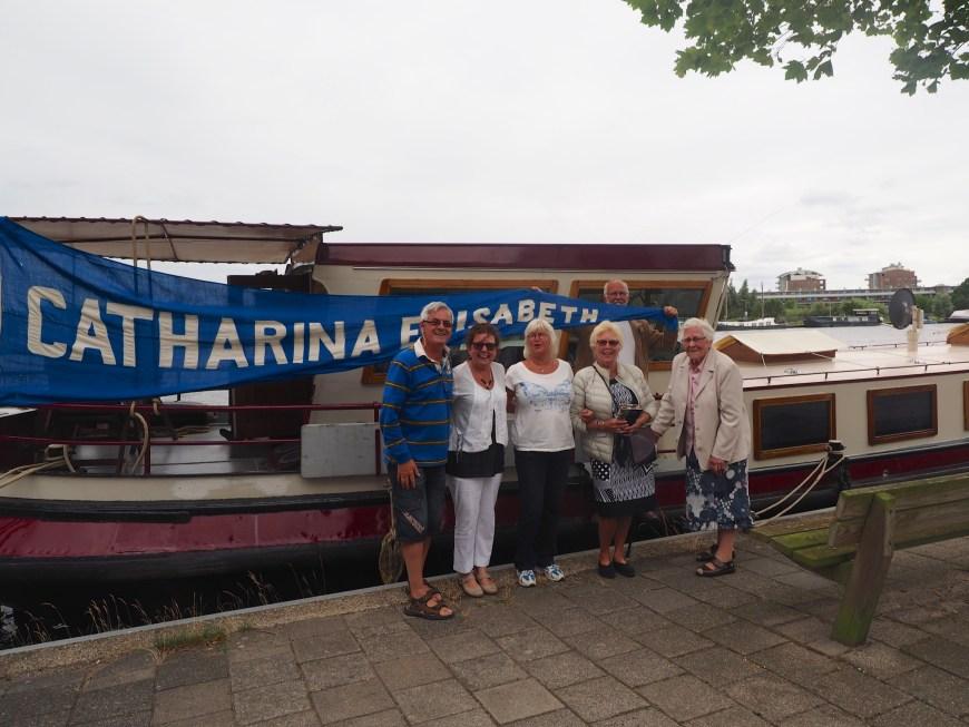 L-R: Ian, Lisette, Ina, Afra, Maarten and Trien