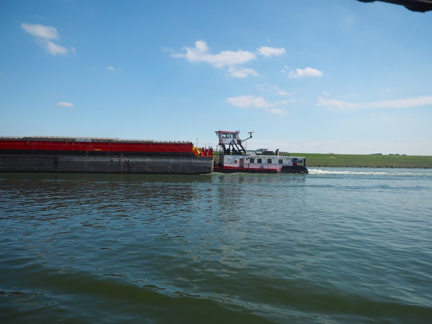 The pusher barge