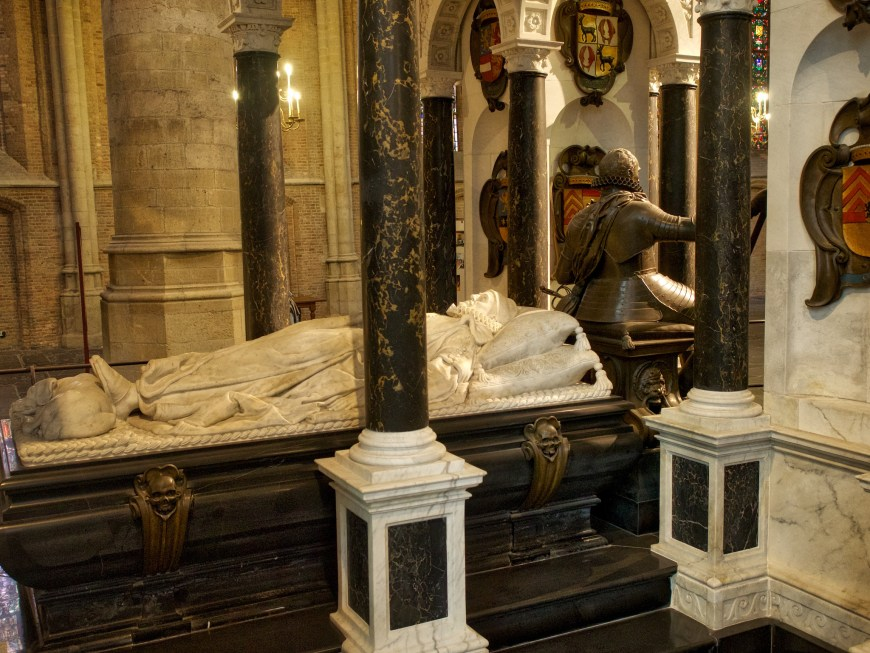 Mausoleum of William I created by father and son Hendrick and Pieter de Keyser in c1625