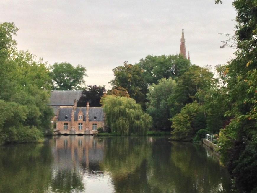 The gardens around Minnewaterpark