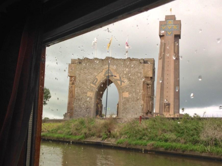 The IJzertoren from Catharina's window