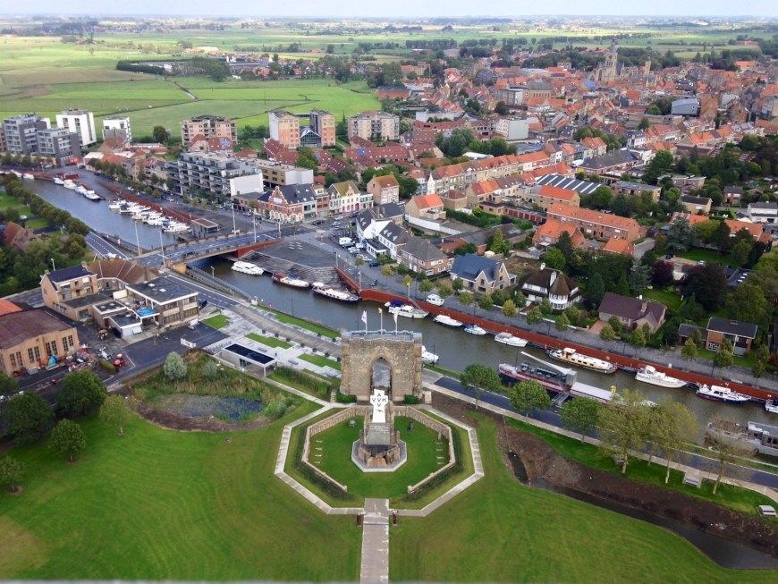 Diksmuide and the port
