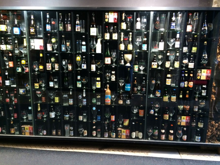 One Frame of the Beer Wall at '2be'