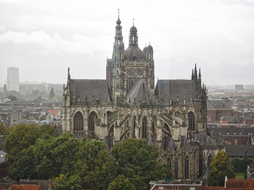 Saint John's Cathedral, on of the largest and tallest in the Netherlands