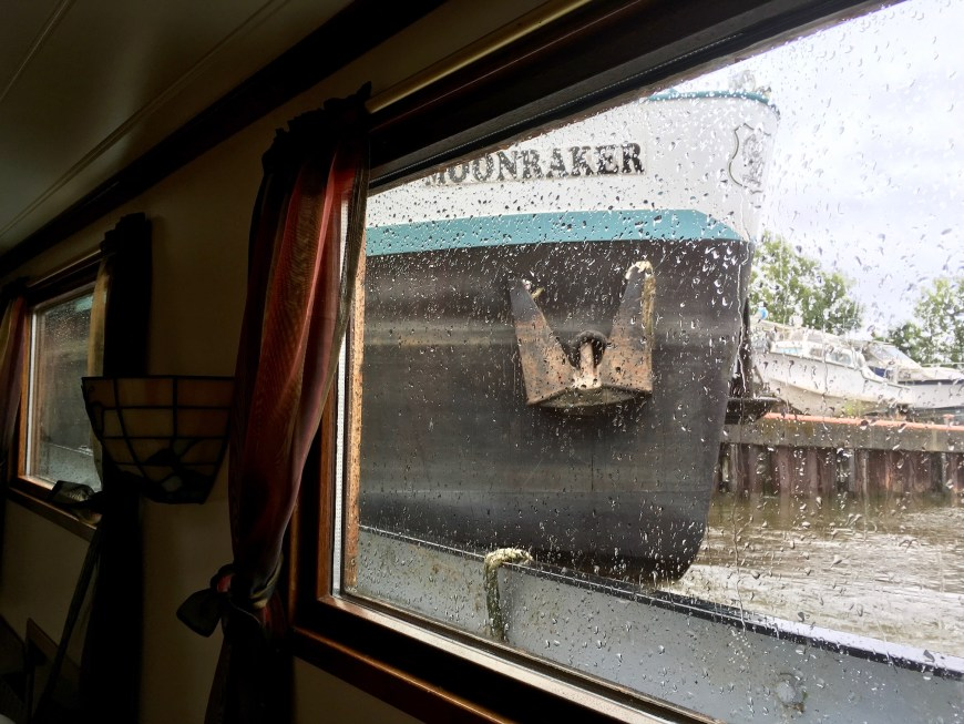 The towered over us and the hull went on and on and on as they passed by - going forwards or in reverse.