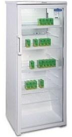 Витрина холодильная со стеклянной дверью Бирюса 290 Е