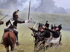 В Бельгии реконструировали битву при Ватерлоо