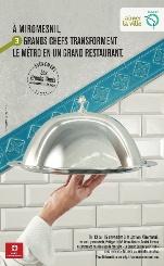 В парижском метро проходят мастер-классы лучших… поваров