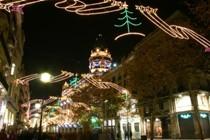 77 км гирлянд осветят улицы Барселоны на Рождество