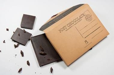 В Бельгии выпустят шоколадные почтовые марки