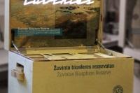 Кунсткамера Литва в посылке путешествует по Европе