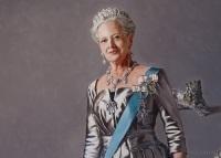 Королева Маргрете и принц Хенрик представят свои работы в Дании