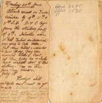 Дневники солдат Первой мировой войны оцифрованы в Великобритании