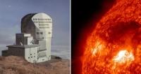 Испанский консорциум создал самый большой солнечный телескоп в мире