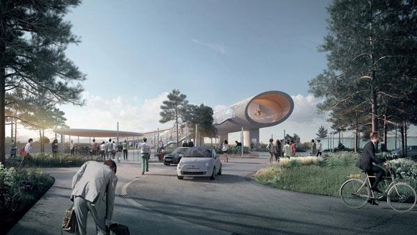 В Копенгагене будет построен «супервокзал» нового поколения
