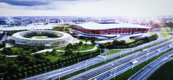 В Брюсселе будет построен национальный стадион