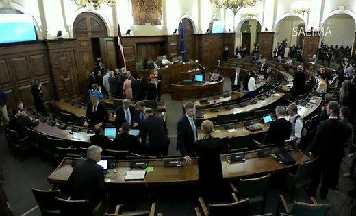 Латвийский Сейм выбирает президента