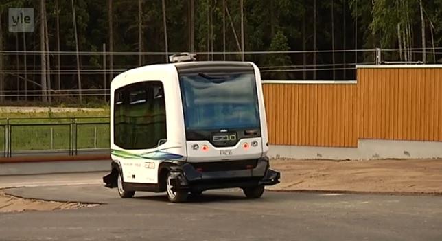 Роботы вместо водителей автобусов?